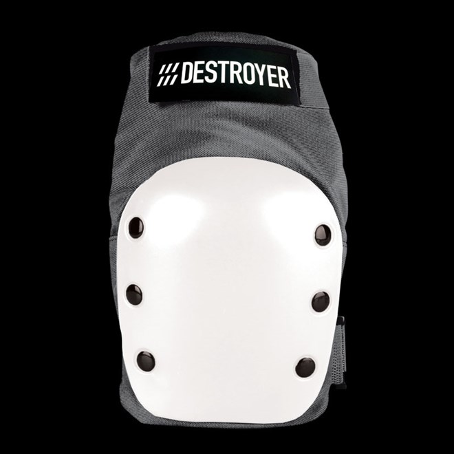 chránič kolen DESTROYER - Rec Knee Grey/White (GRW)