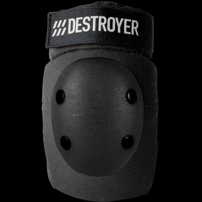 ochraniacze na łokcie DESTROYER - Pro Elbow Black (BLK)