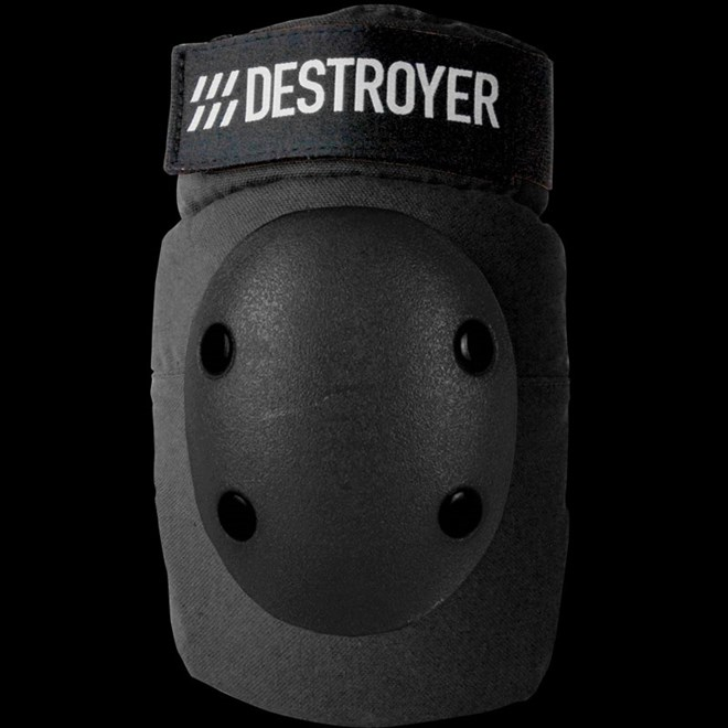 chránič kolen DESTROYER - Pro Elbow Black (BLK)