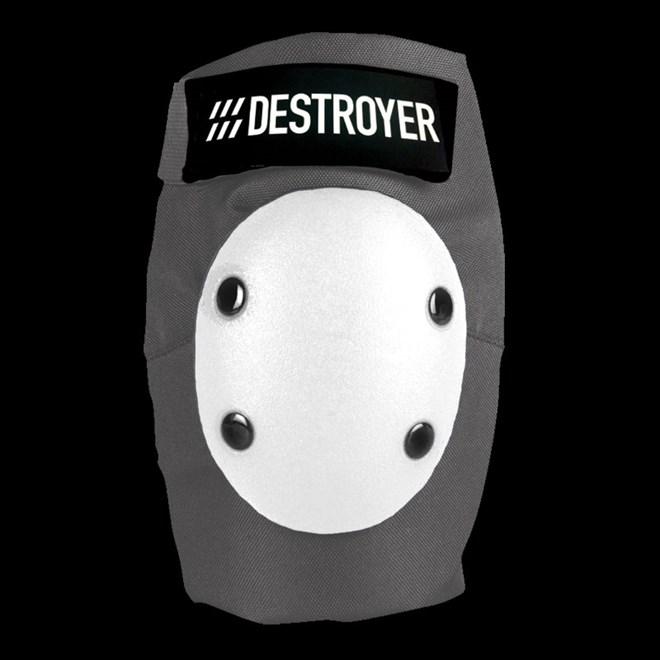 chránič DESTROYER - Pro Elbow Grey/White (GRW)