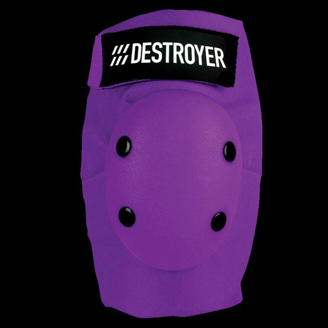 chránič kolen DESTROYER - Am Elbow Purple (PRP)