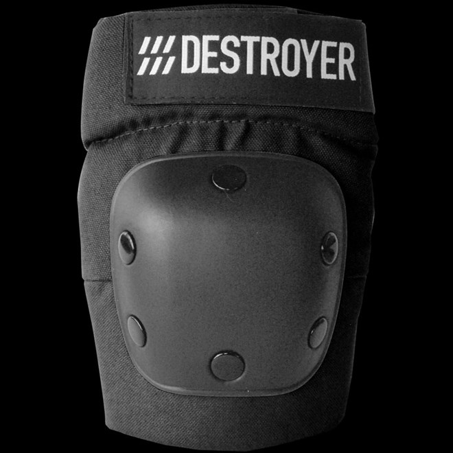 chránič kolen DESTROYER - Rec Elbow Black (BLK)