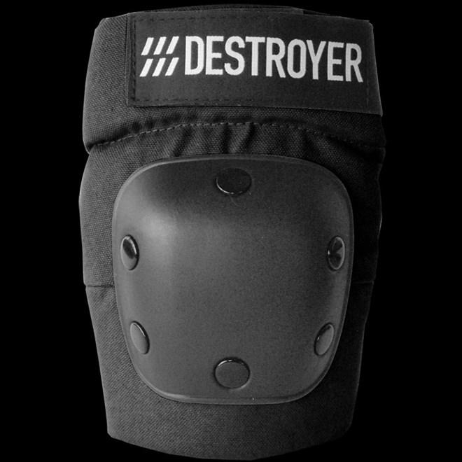 chránič DESTROYER - Rec Elbow Black (BLK)