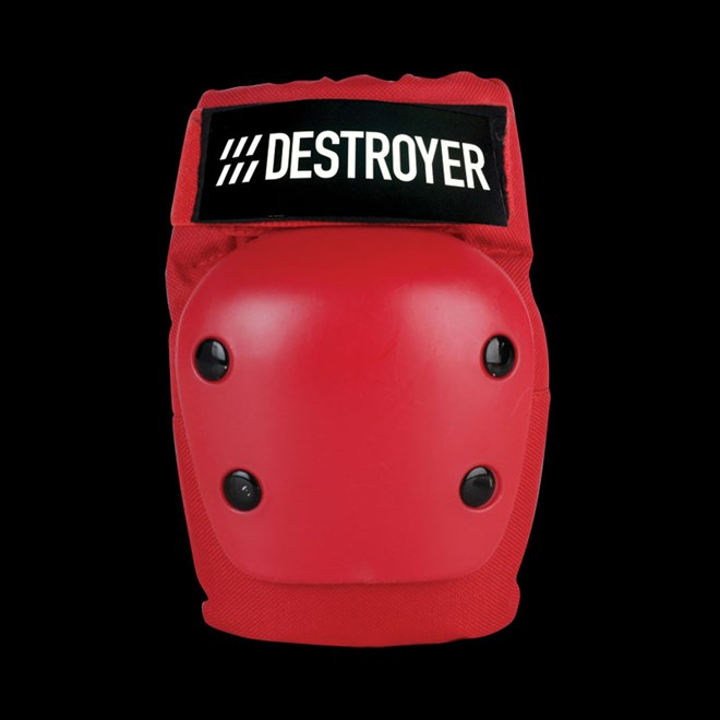 chránič loktů DESTROYER - Rec Elbow Red (RED)