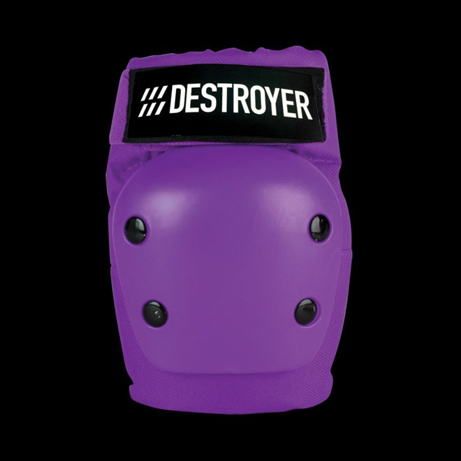 chránič kolen DESTROYER - Rec Elbow Purple (PRP)