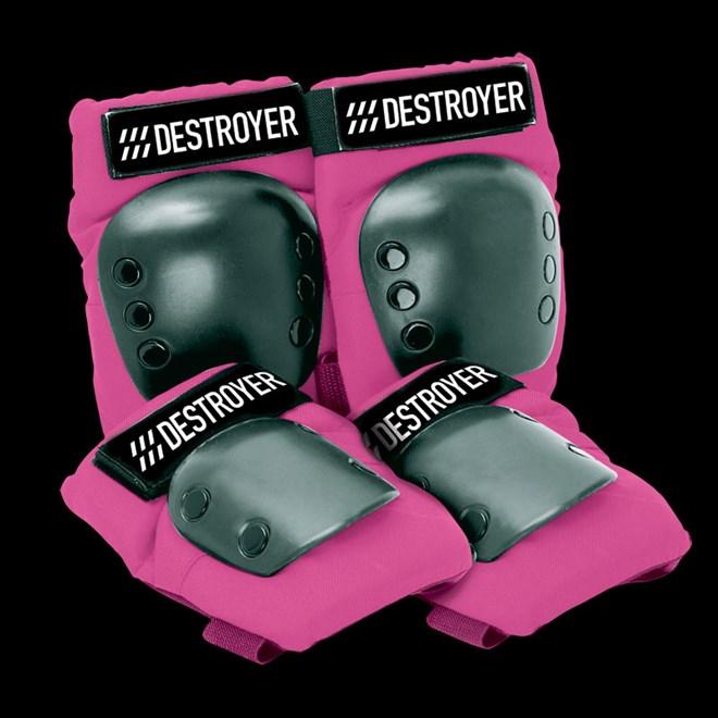 chrániče DESTROYER - Rec Grom Pink (PINK)