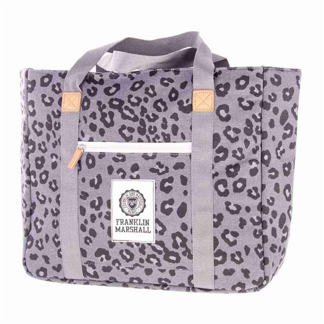 taška FRANKLIN & MARSHALL - Fashion shopper - leopard all over (71)