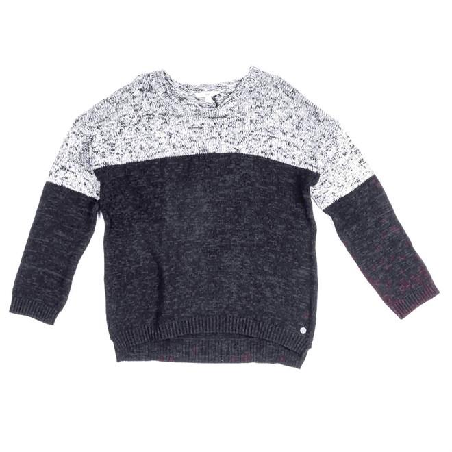 košile VANS - Wasted Youth Sweat Black (BLK)
