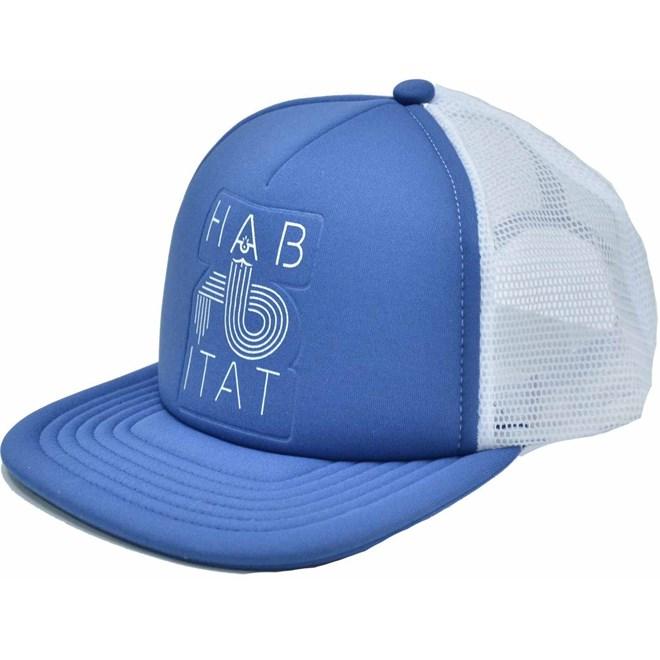 kšiltovka HABITAT - Hb Low Fi Blue (MODRA)