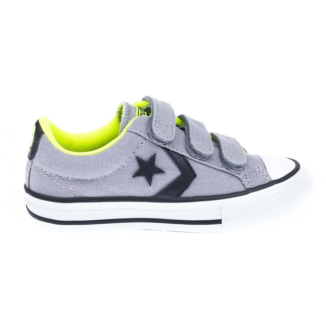 boty CONVERSE - Star Player Ev 3V Dolphin/Black/Safety Yellow (DOLPHIN/BLK/SAFETY Y)