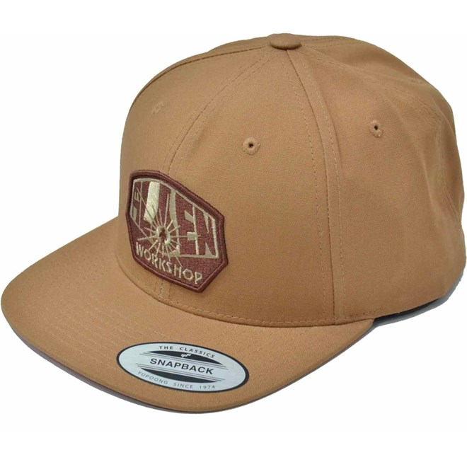 kšiltovka ALIEN WORKSHOP - Og Logo Brown (HNEDA)