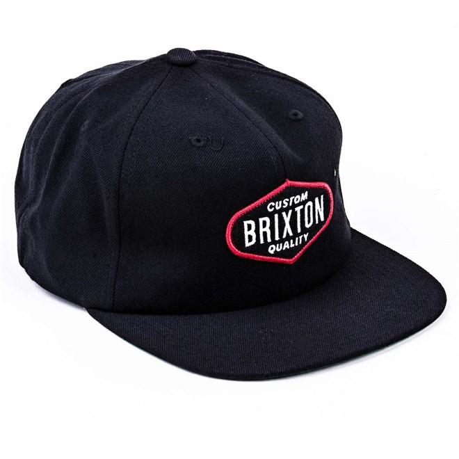 kšiltovka BRIXTON - Oakland Black (BLACK)