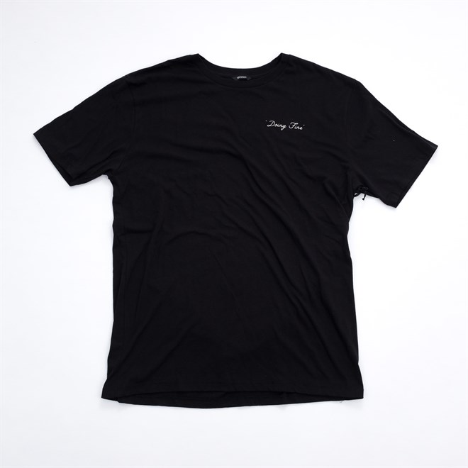 triko BRIXTON - Fine S/S Prem Tee Black (BLACK)