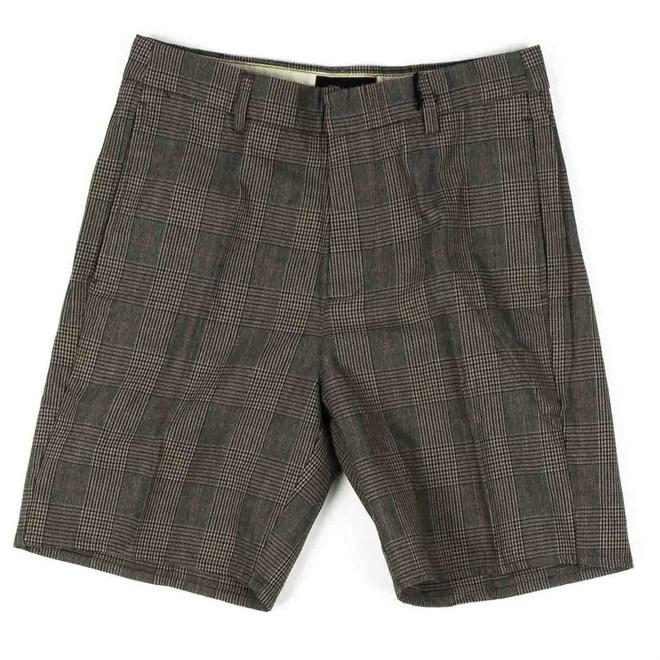 kraťasy BRIXTON - Graduate Slack Short Grey Plaid (GYPLD)