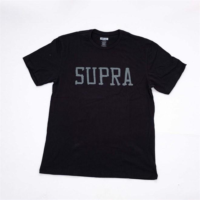 triko SUPRA - Sketchblock Black (BLK)