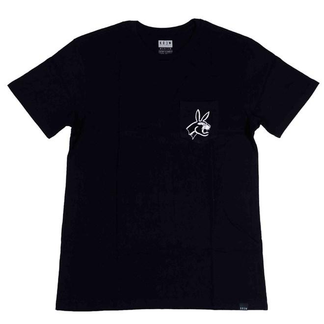 triko KREW - Pantherbunny S/S T Black (008)