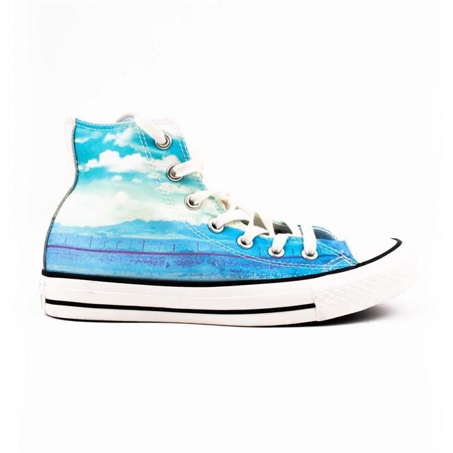 boty CONVERSE - CT AS Spray Paint Blue/Motel Pool/Eg (SPRAY PAINT BLUE/MOT)
