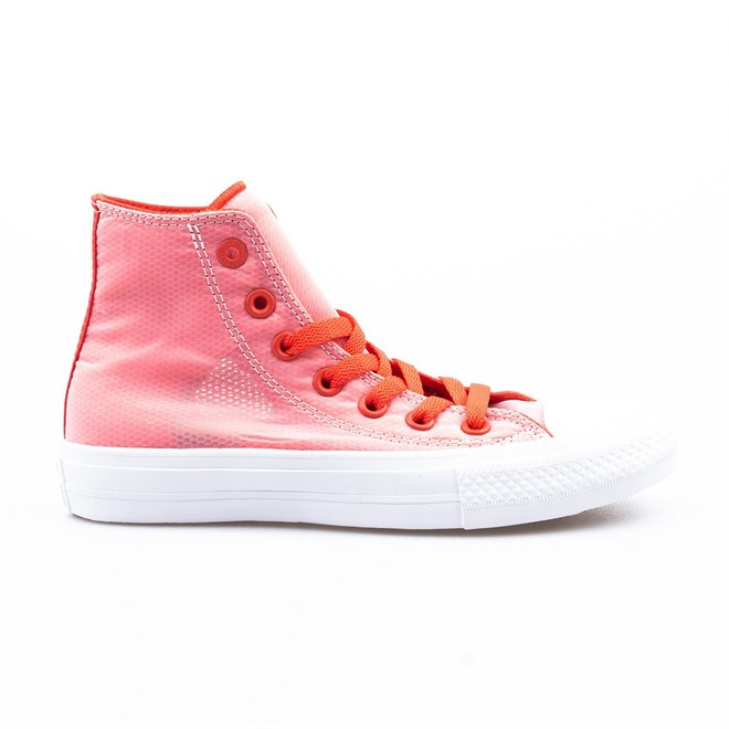 boty CONVERSE - Chuck Taylor All Star II Ultra Red/White/White (ULTRA RED-WHT-WHT)