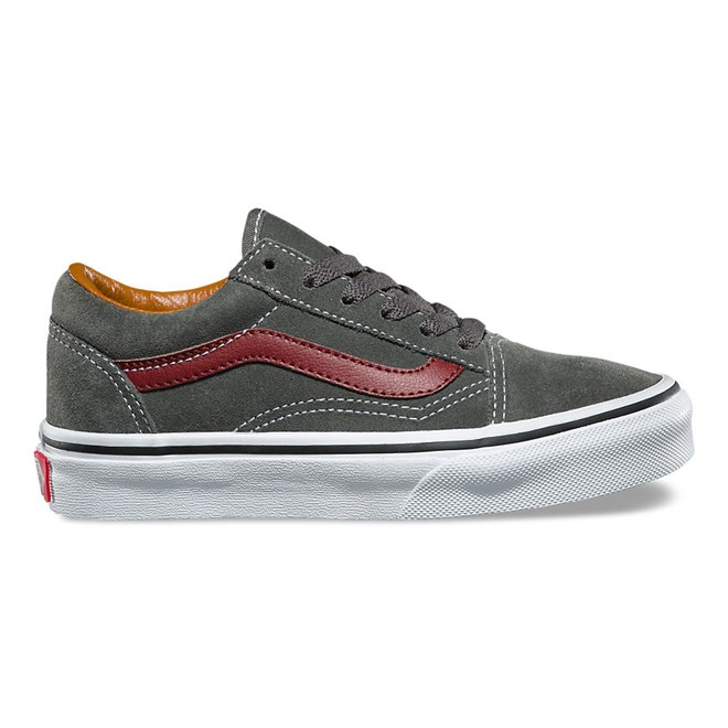 boty VANS - Old Skool (Suede) Gunmetal/Madder Brown (OIR)
