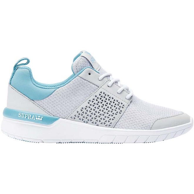 boty SUPRA - Scissor Light Grey/Aqua-Wht (083)