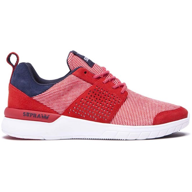boty SUPRA - Scissor Red/Navy-White (649)