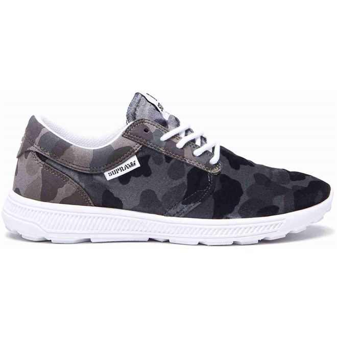 Schuhe SUPRA - Hammer Run Black Camo-White (025)