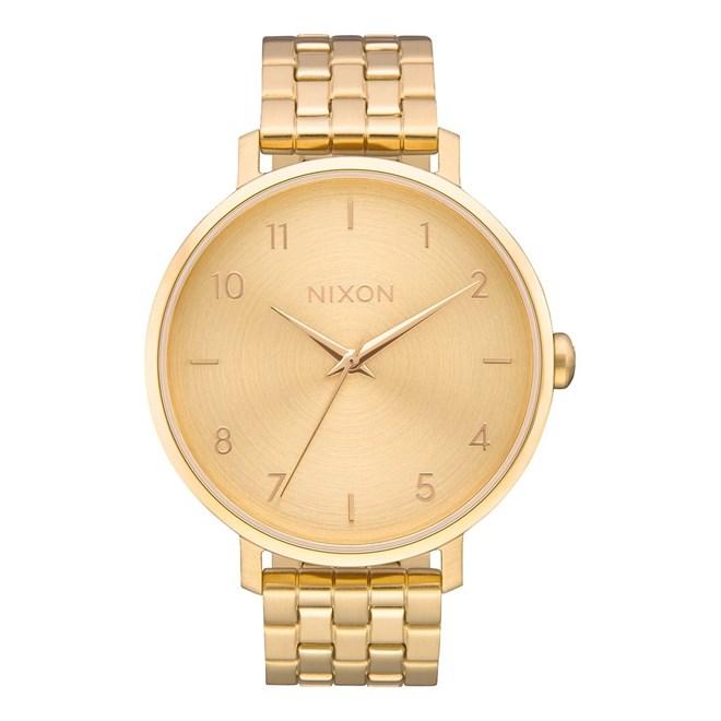 5c5028e25 hodinky NIXON - Arrow All Gold (502) | SNOWBITCH.CZ