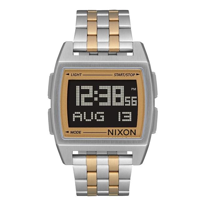 hodinky NIXON - Base Silver Light Gold (1431)  430cf1dd9aa