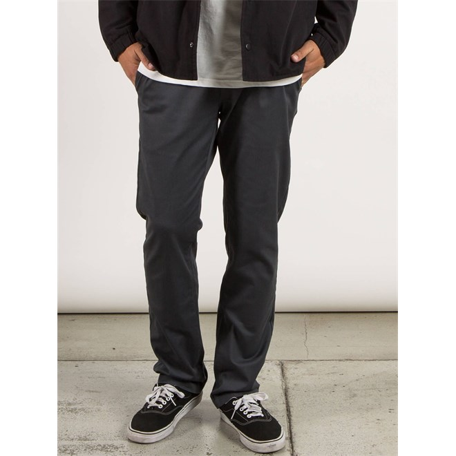 kalhoty VOLCOM - Frickin Modern Stret Charcoal (CHR)