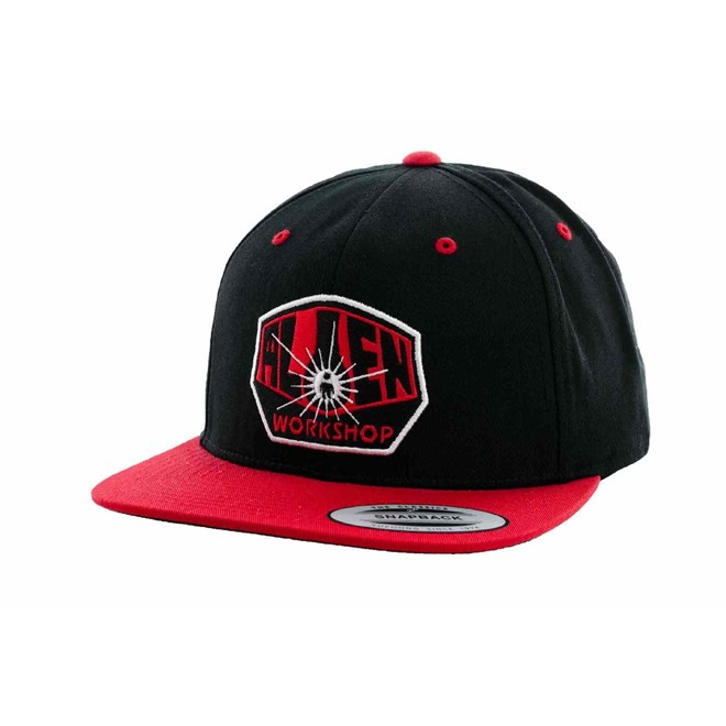 kšiltovka ALIEN WORKSHOP - Og Logo Blk/Red (CERVENA)