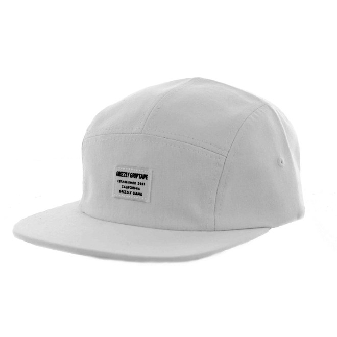 kšiltovka GRIZZLY - CERTIFIED CAMP HAT White (WHITE)