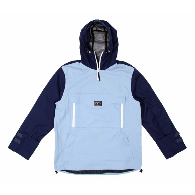 bunda GRIZZLY - OUTDOOR ALUMNI JACKET Blue (BLUE)