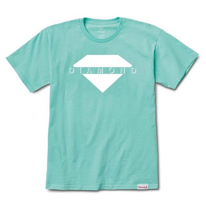 triko DIAMOND - Viewpoint Tee Sp18 Diamond Blue (DBLU)