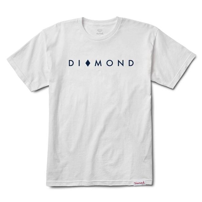 triko DIAMOND - Marquise Tee Sp18 White (WHT)
