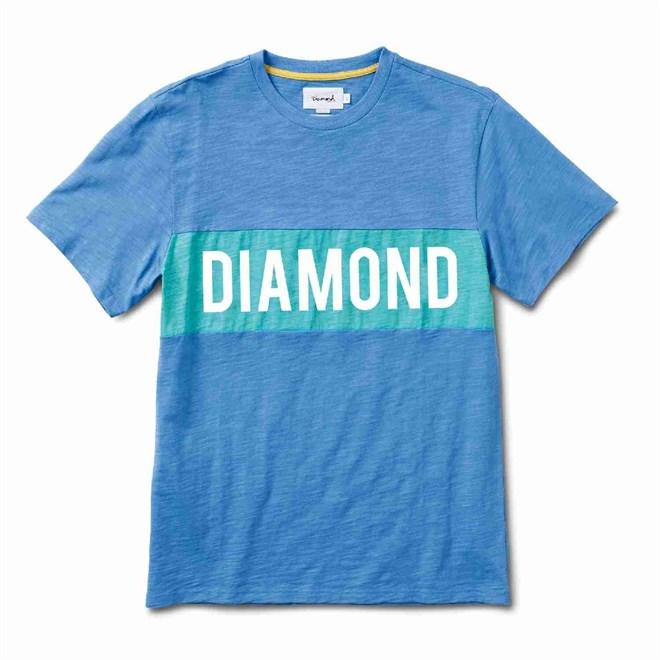 koszulka DIAMOND - Elliot Tee Blue (BLU)