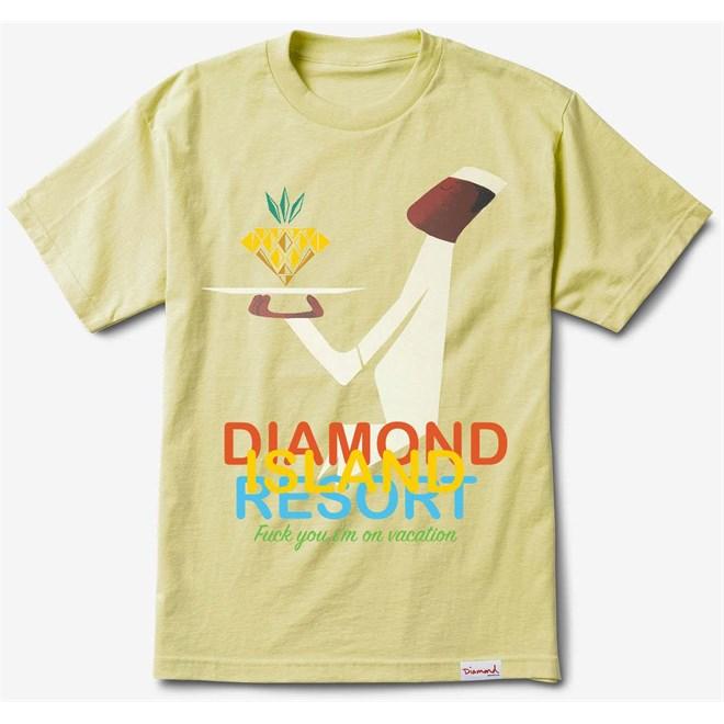 tričko DIAMOND - Diamond Resort Tee Banana (BAN)