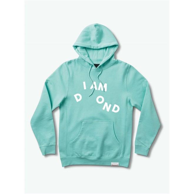Sweatshirt DIAMOND - I Am Sp19 Hoodie Mint (MINT)