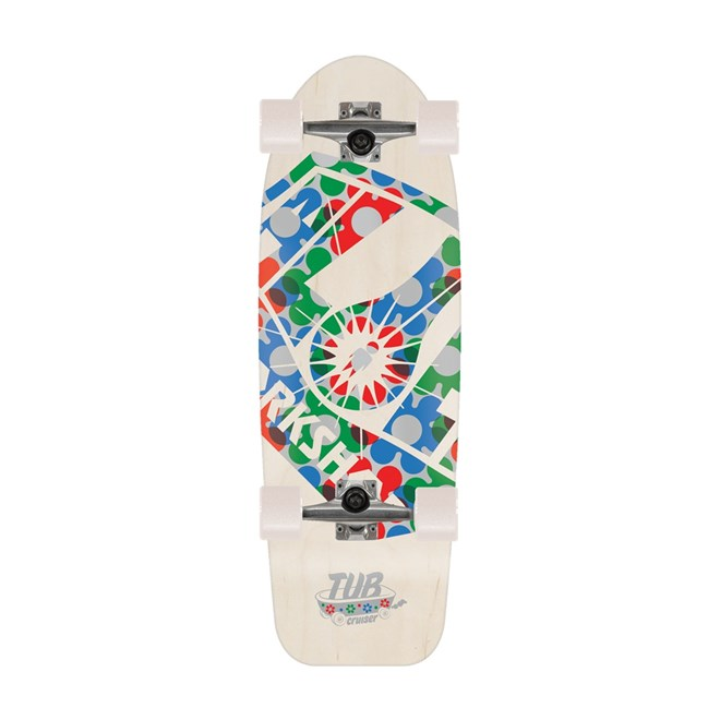 cruiser ALIEN WORKSHOP - Tub Cruiserlt White (BILA)