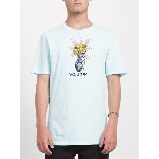 koszulka VOLCOM - Volcom Grenade Ltw S Pale Aqua (PAQ)