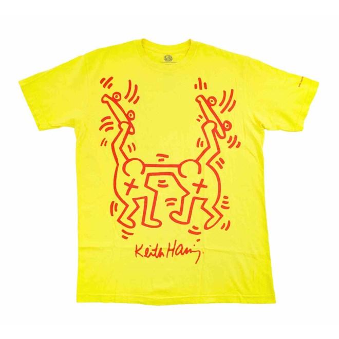 triko ALIEN WORKSHOP - Haring Rise Above Yellow (ZLUTA)