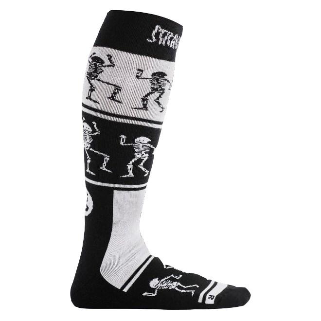 ponožky STINKY - Strange Brew White/Black/Red (WHITE/BLACK/RED)