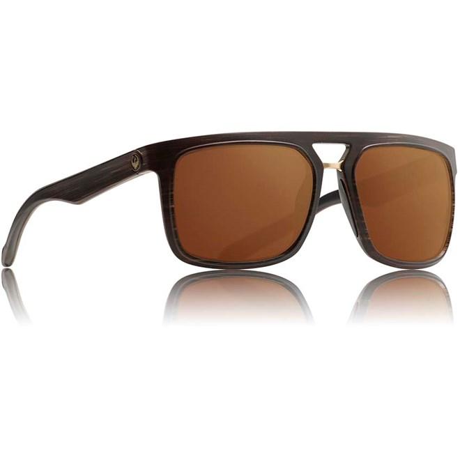 sluneční brýle DRAGON - Aflect Ion Matte Woodgrain Copper Ion (229)