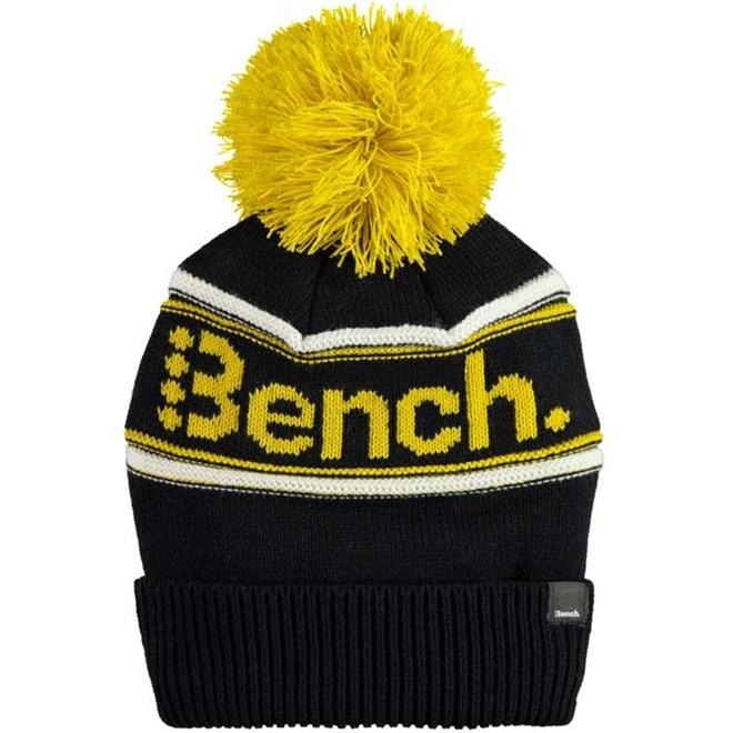 kulich BENCH - Turn Up Bobble Beanie Black Beauty (BK11179)