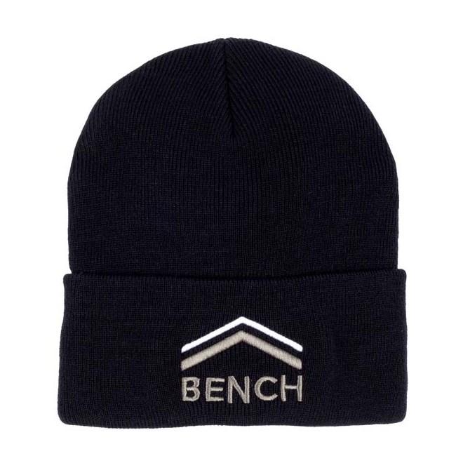 kšiltovka BENCH - Turn Up Beanie With Graphic Black Beauty (BK11179)