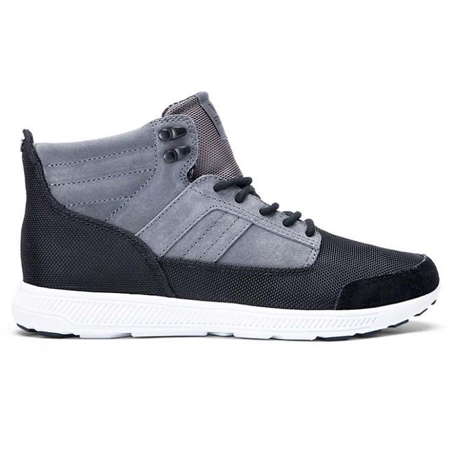 boty SUPRA - Bandito Grey/Black-White (GBK)