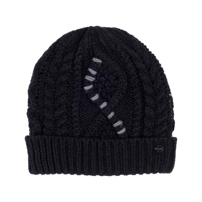 kulich BENCH - Cable Knit Beanie Black Beauty (BK11179)