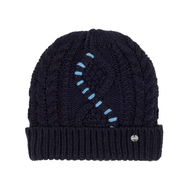 kulich BENCH - Cable Knit Beanie Essentially Navy (BL11341)