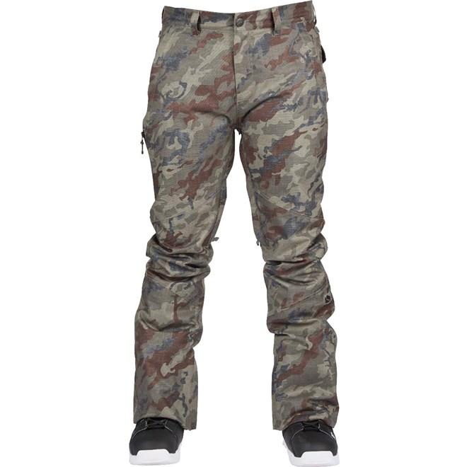 kalhoty BONFIRE - Surface Stretch Pant Olive Camo (OLV)