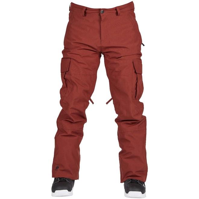 kalhoty BONFIRE - Tactical Pant Burgundy (BUR)
