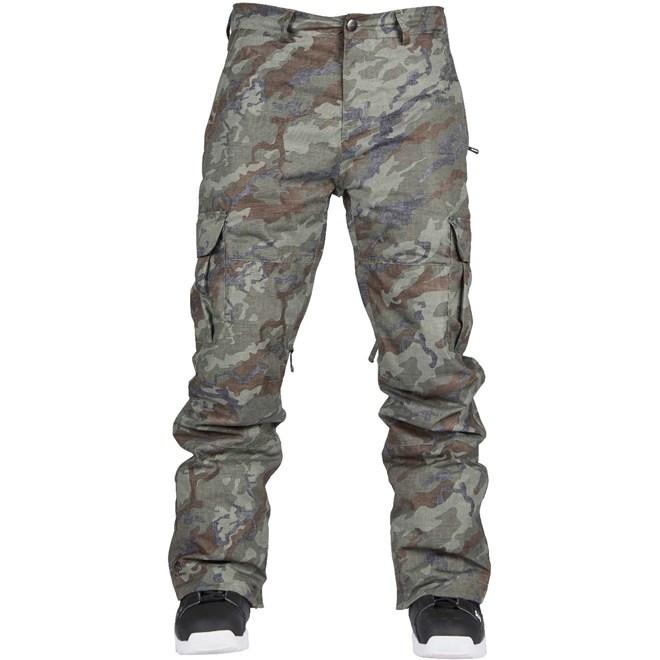 kalhoty BONFIRE - Tactical Pant Olive Camo (OLV)